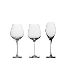 Tomme glass til helflaske vin/champagne